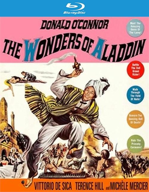 The Wonders of Aladdin (Blu ray)