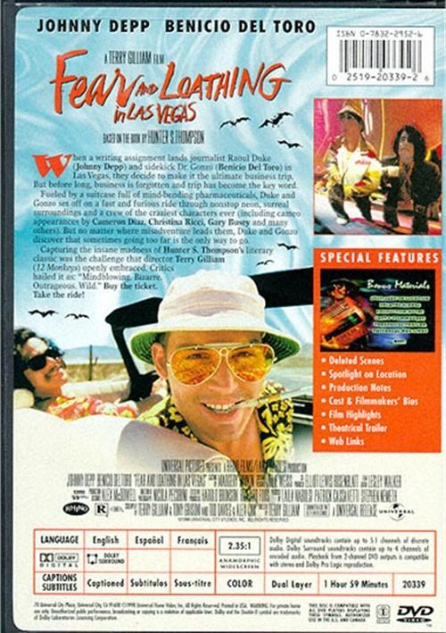 Fear And Loathing In Las Vegas (Universal) (DVD 1998