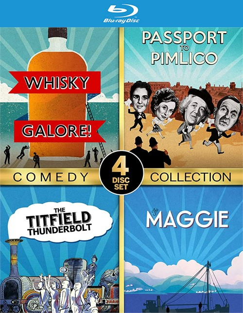 Ealing Studios Comedy Collection (Blu ray)