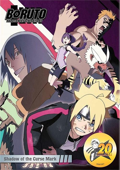 Boruto: Naruto Next Generations - Shadow of the Curse Mark (DVD)