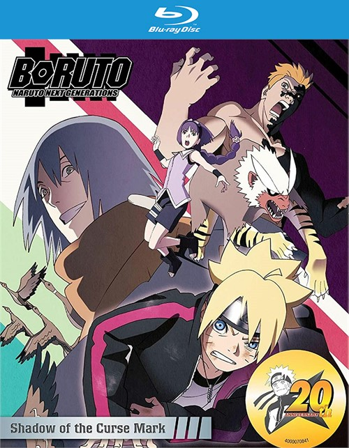 Boruto: Naruto Next Generations - Shadow of the Curse Mark (Blu ray)