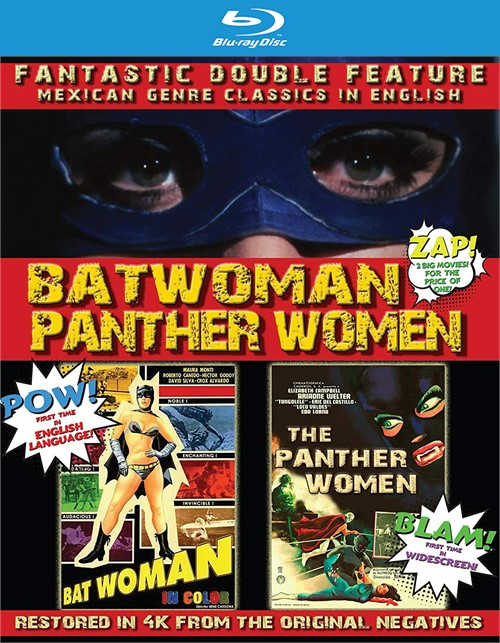 Batwoman & The Panther Women: Double Feature (Blu ray)