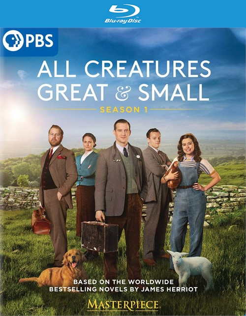 Masterpiece: All Creatures Great And Small (Blu ray)
