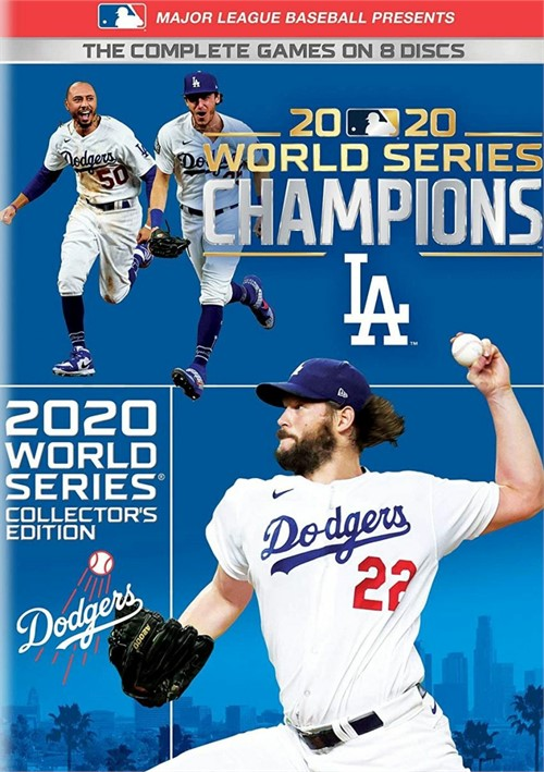 Major League Baseball Presents 2020 World Series: Los Angeles Dodgers (DVD)