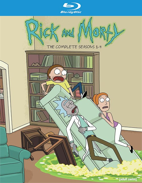 Rick and Morty: Seasons 1-4 (Blu ray)