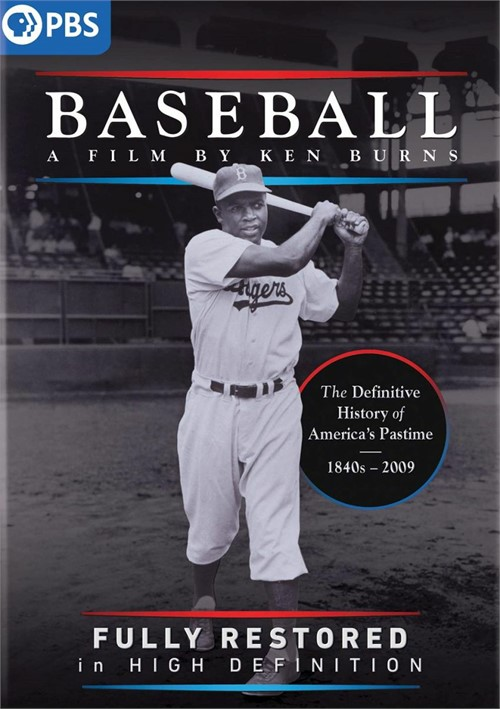 Baseball: A Film by Ken Burns Fully Restored in High Definition (DVD)
