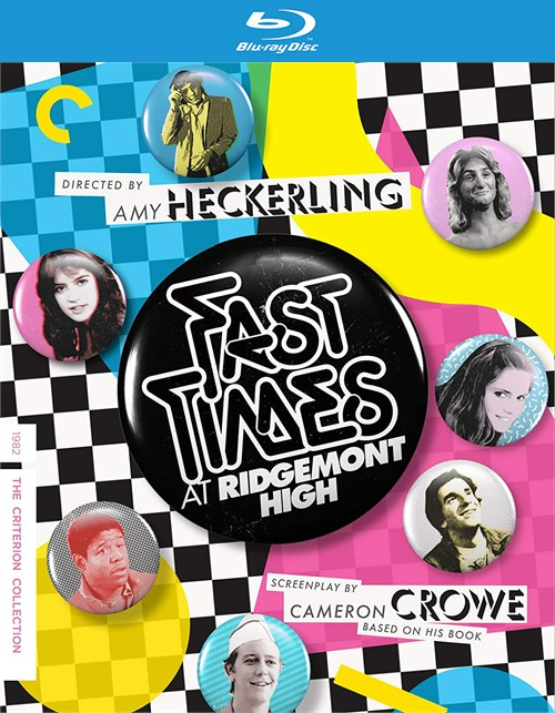 Fast Times at Ridgemont High (The Criterion Collection Blu ray)
