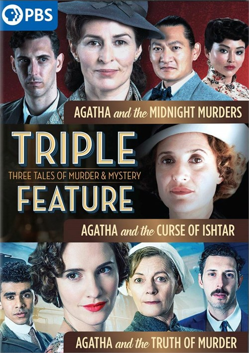 Agatha And The Truth Of Murder/ Agatha And The Curse Of Ishtar/ Agatha And The Midnight Murders
