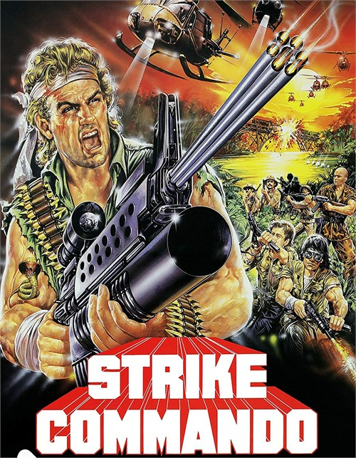 Strike Commando (Blu ray)