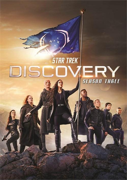 Star Trek Discovery: Season 3 (DVD)