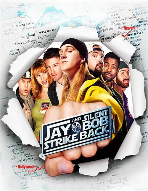 Jay and Silent Bob Strike Back (Blu ray)