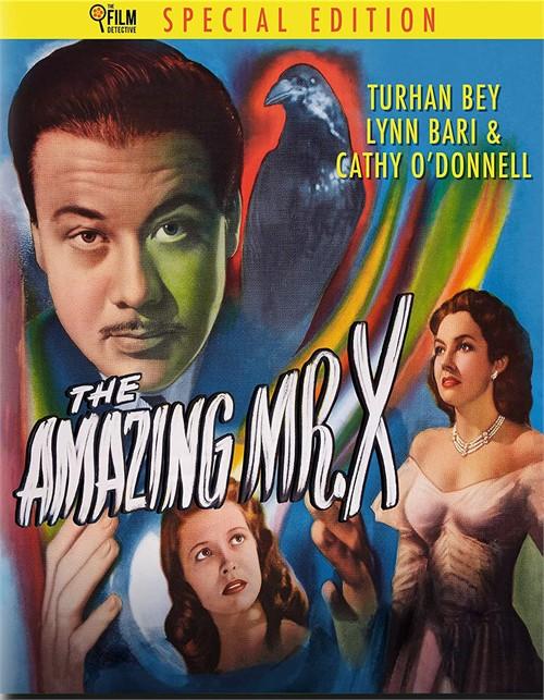 The Amazing Mr. X (Blu ray)