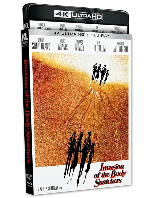 Invasion Of The Body Snatchers (4K - UHD/Blu-Ray /1978 /WS 1.85 /2 Disc)