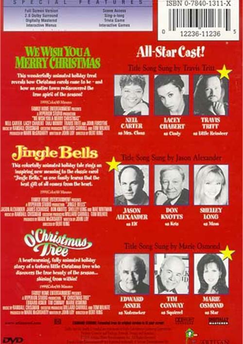 Christmas Classics: We Wish You A Merry Christmas/ Jingle Bells/ O' Christmas Tree (DVD 1999 ...