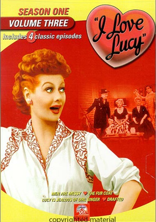 I Love Lucy: Season One - Volume Three