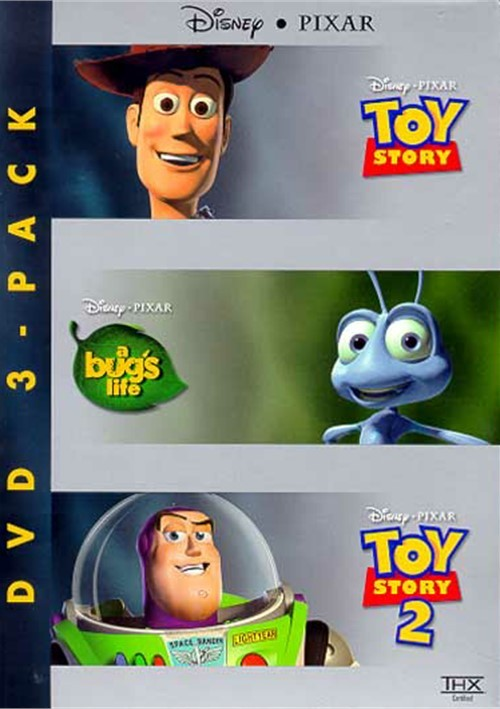 Pixars 15th Anniversary 3 Pack: A Bugs Life/ Toy Story/ Toy Story 2