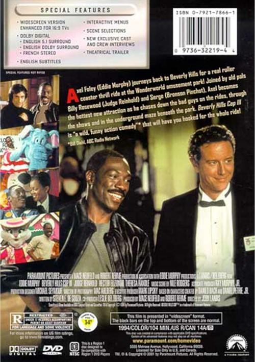 Beverly Hills Cop Iii Dvd 1994 Dvd Empire