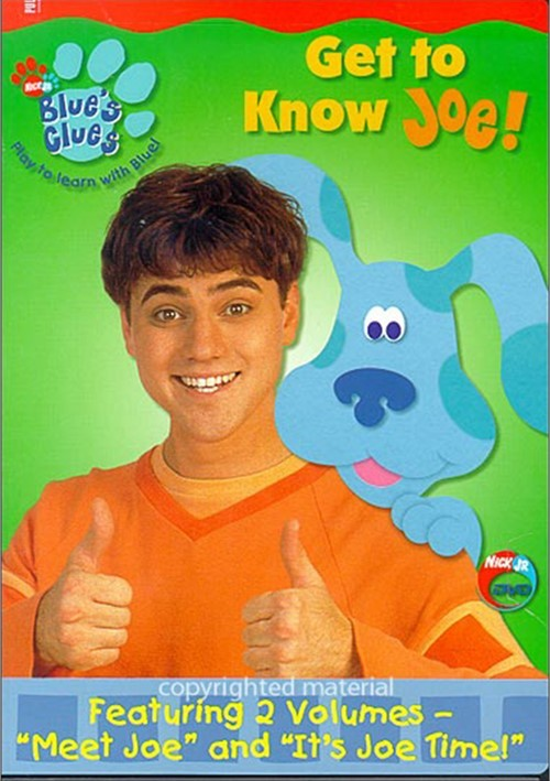 Blues Clues: Get To Know Joe!