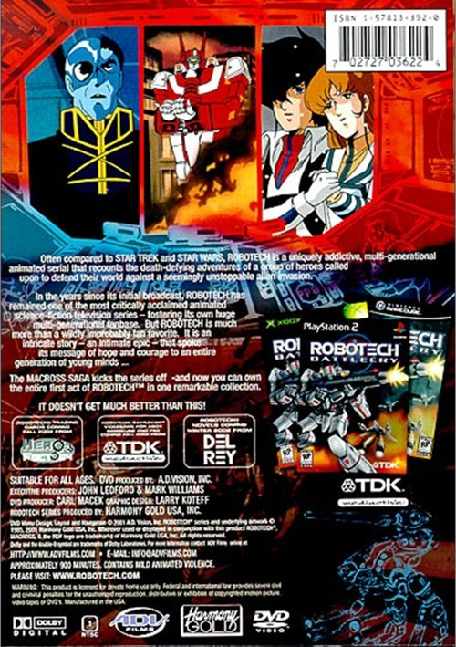 Robotech The Macross Saga - Complete Collection Dvd 1985 -5806