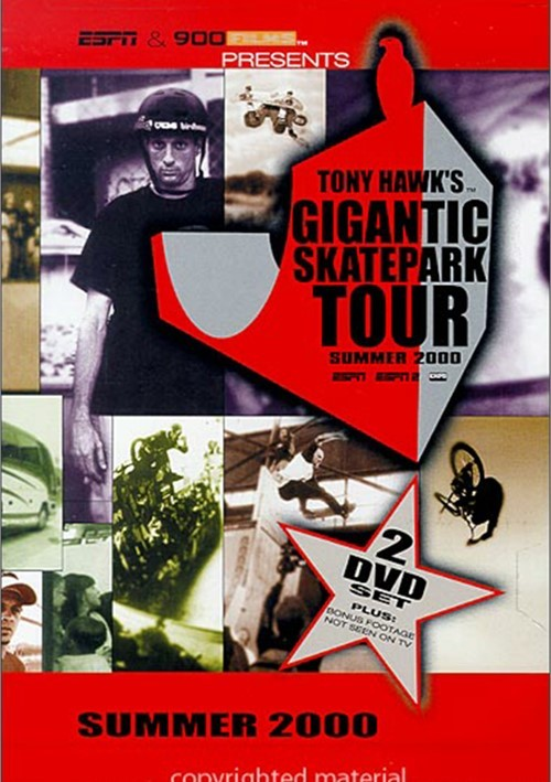 Tony Hawk: Gigantic Skatepark Tour - Summer 2000