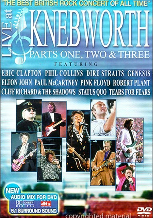 Live At Knebworth: Parts One, Two & Three