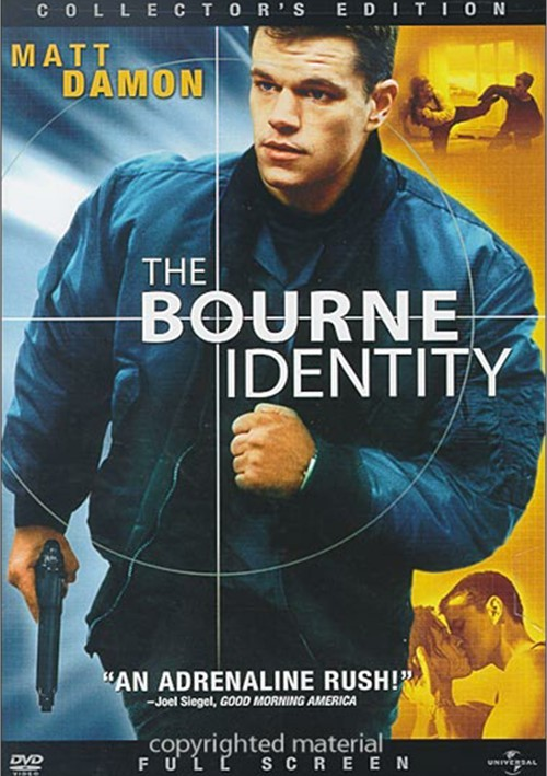 Bourne Identity, The (Fullscreen)