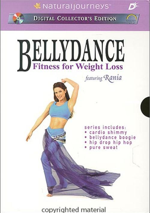 Bellydance Fitness For Weight Loss: 4 Disc Set