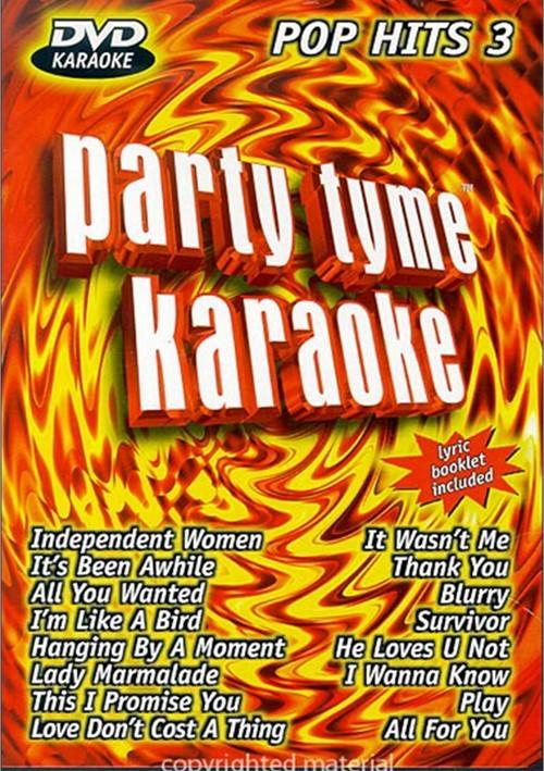Party Tyme Karaoke: Pop Hits 3