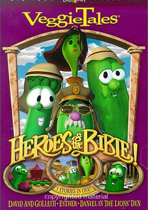 Veggie Tales: Heroes Of The Bible - Lions, Shepherds And Queens