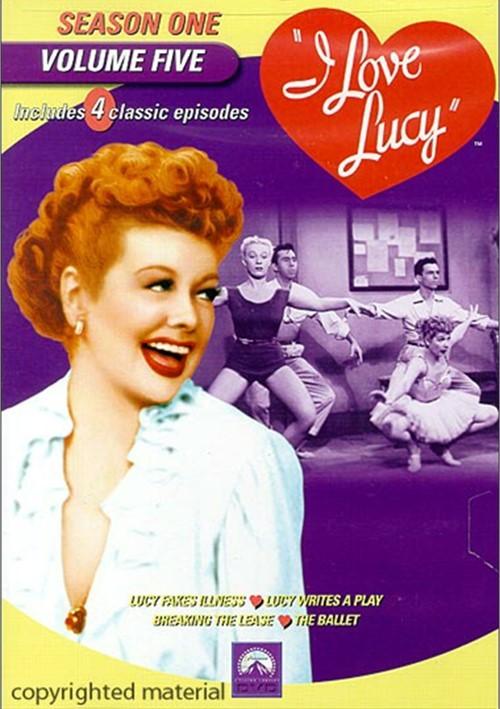 I Love Lucy: Season One - Volume Five