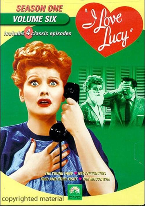 I Love Lucy: Season One - Volume Six