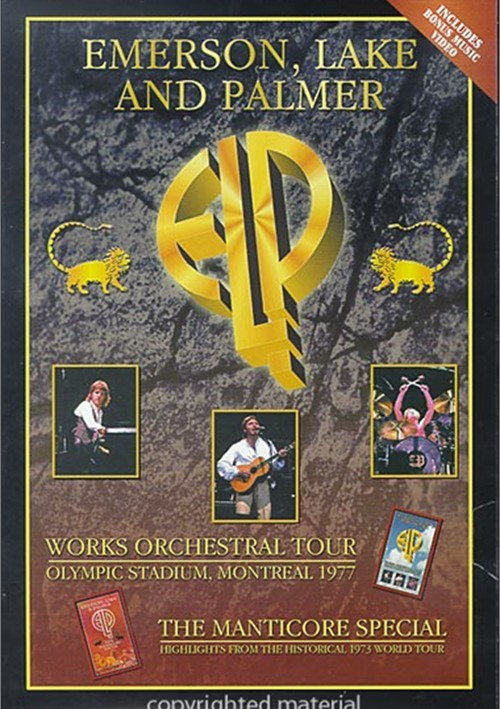 Emerson, Lake And Palmer: Works Orchestra Tour / Manticore Special