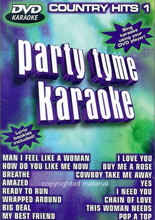 Party Tyme Karaoke: Country Hits 1