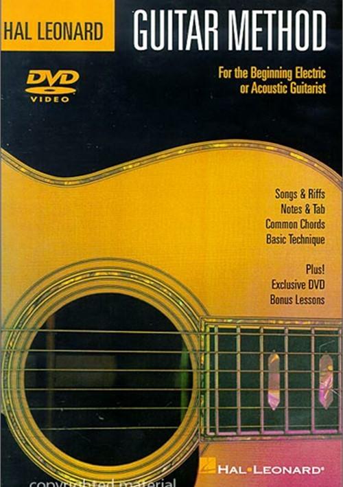Hal Leonard Guitar Method: For The Beginning Electric Or Acoustic Guitarist