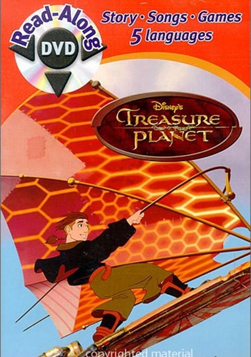 treasure planet dvd - 500×709