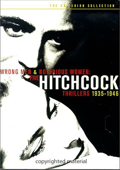 Wrong Men & Notorious Women: Five Hitchcock Thrillers 1935-1946 - The Criterion Collection