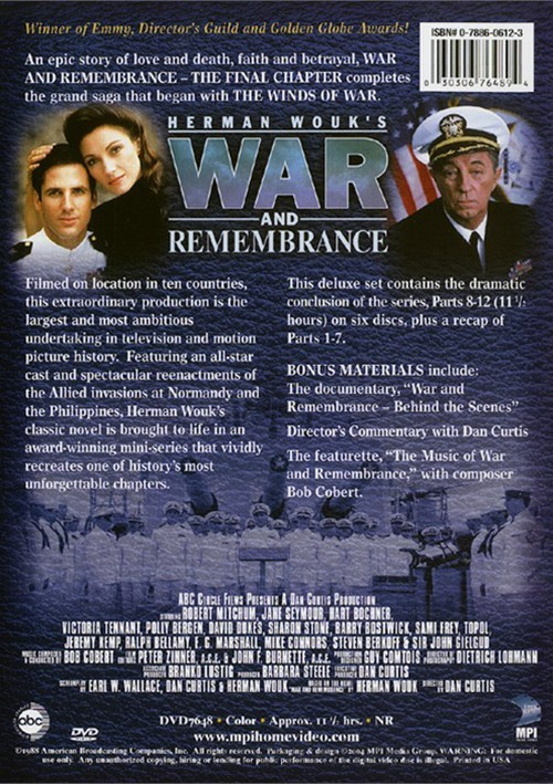 war and remembrance the final chapter