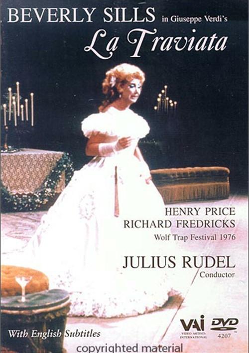 Beverly Sills In Giuseppe Verdis La Traviata