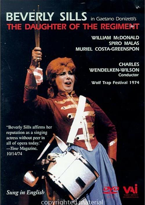 Beverly Sills In Gaetano Donizettis Daughter of the Regiment