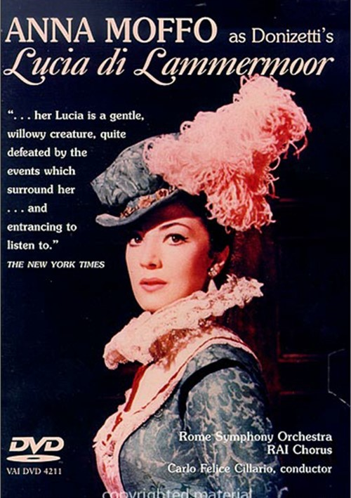 Anna Moffo as Donizettis Lucia Di Lammermoor