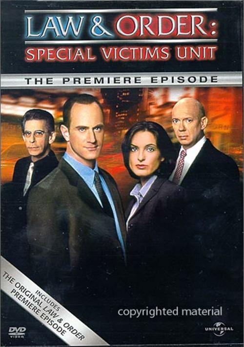 Law & Order: Special Victims Unit - The Premiere Episode