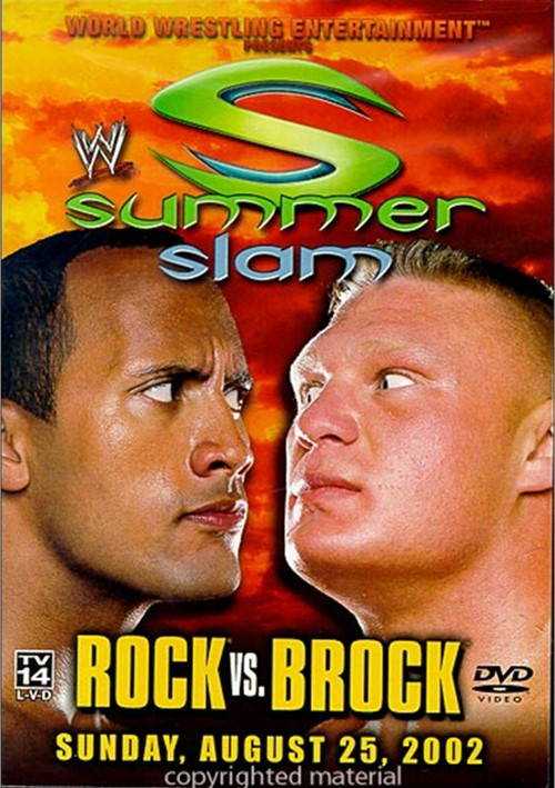 WWE: SummerSlam 2002 - Rock vs. Brock.
