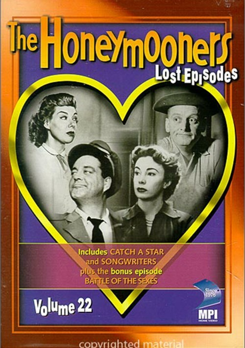 Honeymooners Volume 22, The: Lost Episodes