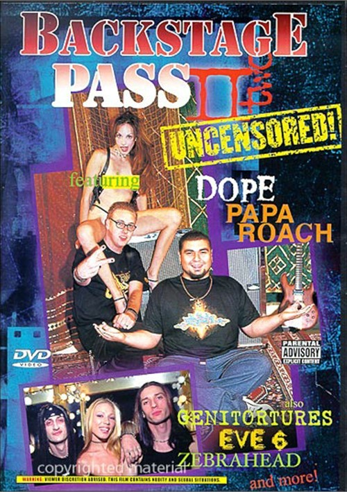 Backstage Pass II: Uncensored
