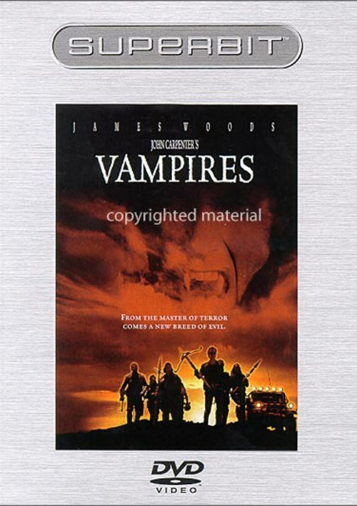John Carpenters Vampires Superbit Dvd 1998  Dvd Empire-3880