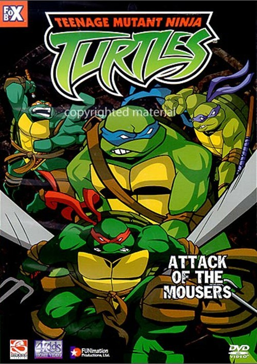 Teenage Mutant Ninja Turtles: Attack Of The Mousers