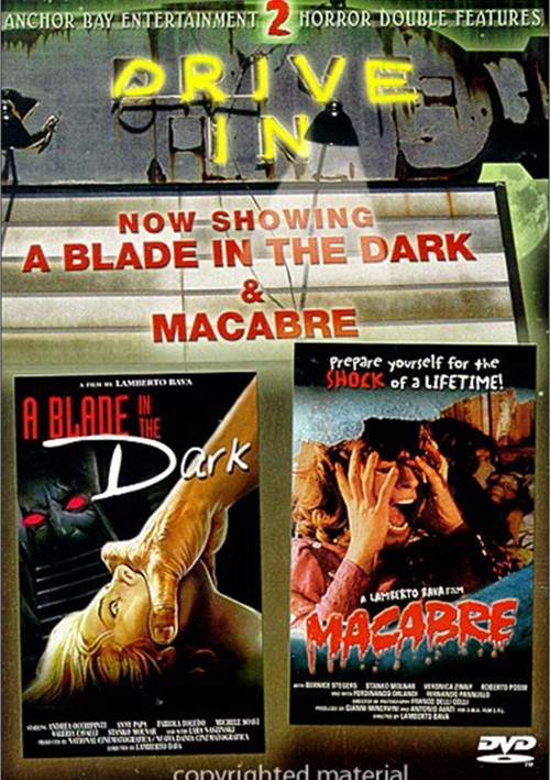Blade In The Dark / Macabre (Drive-In Double Feature)