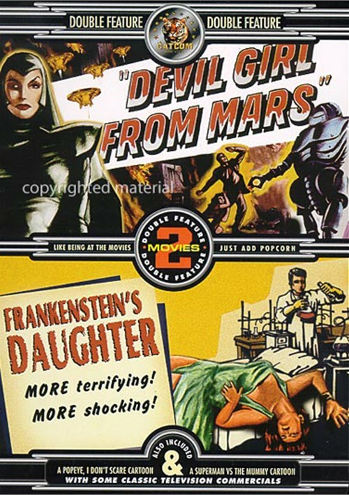 Devil Girl From Mars / Frankensteins Daughter (Double Feature)