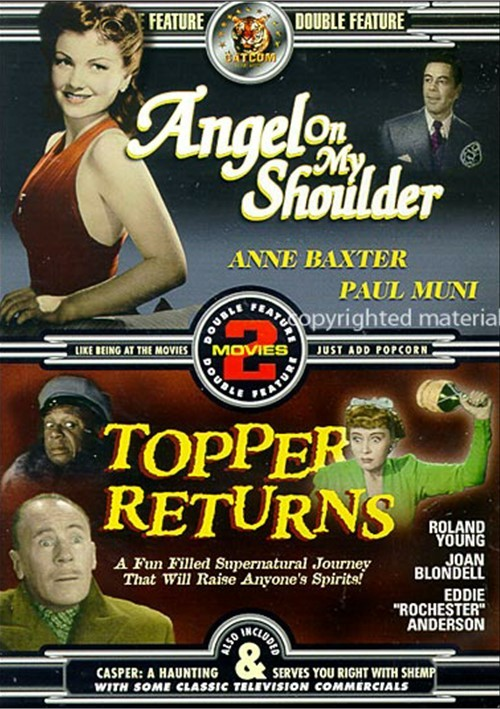 Angel On My Shoulder / Topper Returns (Double Feature)