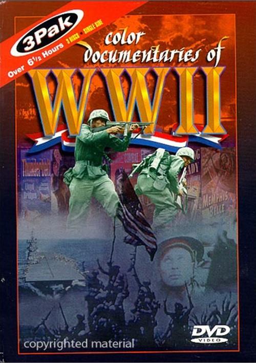 Color Documentaries of World War II (3 DVD Set)